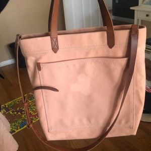 Madewell Canvas Medium Tote Bag